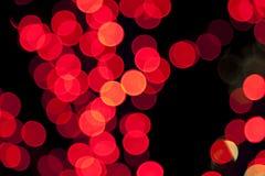 Luces borrosas coloridas del bokeh foto de archivo libre de regalías