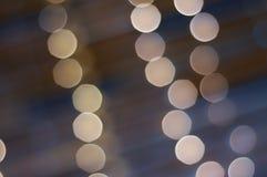 Luces borrosas de la etapa Fotos de archivo libres de regalías