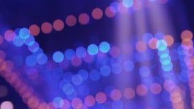 Luces borrosas del partido del color stock de ilustración
