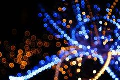 Luces burbujeantes Fotos de archivo libres de regalías