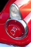 Luces clásicas de la cola del coche Imágenes de archivo libres de regalías