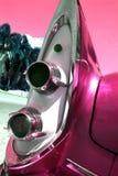 Luces clásicas de la cola del coche Imagen de archivo libre de regalías