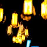 Luces colgantes Imagen de archivo libre de regalías