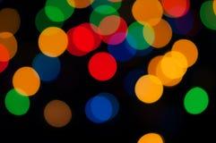 Luces coloreadas Fotografía de archivo