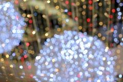 Luces coloreadas Imágenes de archivo libres de regalías