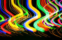 Luces coloridas Fotos de archivo