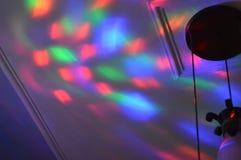 Luces coloridas Foto de archivo libre de regalías