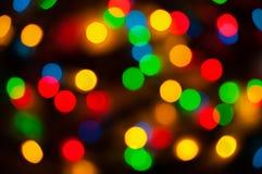 Luces coloridas Fotos de archivo libres de regalías