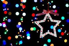 Luces coloridas Imagen de archivo libre de regalías