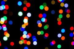 Luces coloridas Imágenes de archivo libres de regalías
