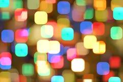 Luces coloridas abstractas Imagen de archivo libre de regalías