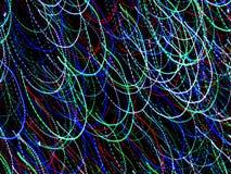 Luces coloridas de Absract foto de archivo