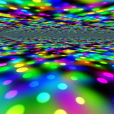 Luces coloridas del partido ilustración del vector