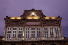 Luces de ayuntamiento imagenes de archivo