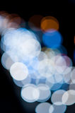 Luces de Bokeh Fotos de archivo
