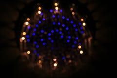 Luces de Bokeh Imagen de archivo libre de regalías