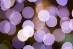 Luces de Bokeh Foto de archivo libre de regalías