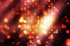 Luces de Bokeh de la Navidad Imagen de archivo libre de regalías