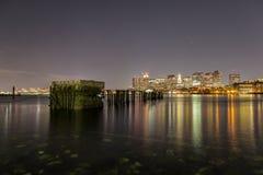Luces de Boston Foto de archivo