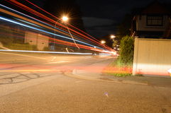 Luces de calle Foto de archivo libre de regalías