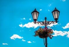 Luces de calle Foto de archivo