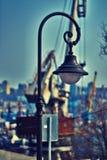 Luces de calle decorativas 020 Imágenes de archivo libres de regalías