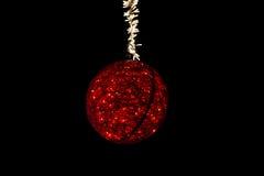 Luces de calles de la Navidad Foto de archivo libre de regalías