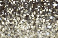 Luces de calles de la Navidad Fotos de archivo