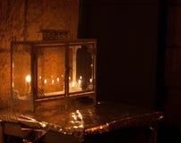 Luces de Chanuka en Jerusalén