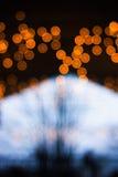 Luces de Christmass Imagenes de archivo