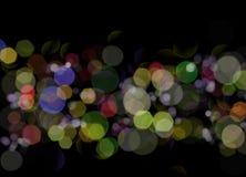 Luces de Digitaces Imagenes de archivo