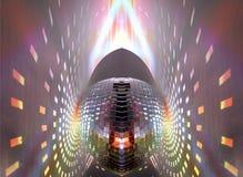 Luces de Discoball Fotografía de archivo