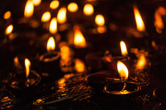 Luces de Diwali Foto de archivo libre de regalías