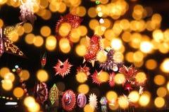 Luces de Diwali Fotos de archivo libres de regalías