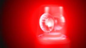 Luces de emergencia almacen de video