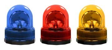 Luces de emergencia Imagen de archivo libre de regalías