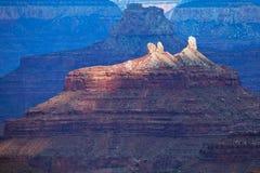 Luces de Grand Canyon Imágenes de archivo libres de regalías