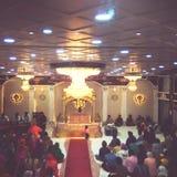 Luces de Gurdwara Imagen de archivo libre de regalías