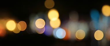 Luces de hadas Fotografía de archivo libre de regalías