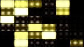Luces de inundación al azar - amarillo del lazo stock de ilustración