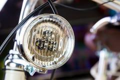 Luces de la bicicleta Foto de archivo
