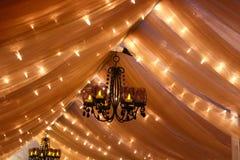 Luces de la boda Fotografía de archivo libre de regalías
