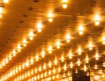 Luces de la carpa Fotos de archivo libres de regalías