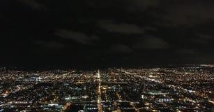 Luces de la ciudad Fotografía de archivo