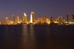 Luces de la ciudad Imagen de archivo
