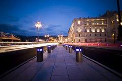 Luces de la ciudad Fotos de archivo libres de regalías