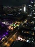 Luces de la ciudad Imagen de archivo libre de regalías