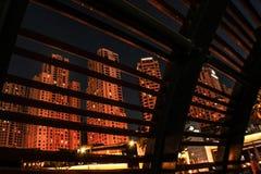 Luces de la ciudad Foto de archivo libre de regalías