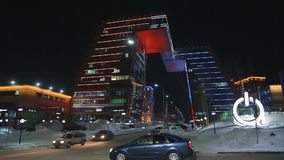 Luces de la ciudad de la noche