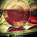 Luces de la cola Fotografía de archivo libre de regalías